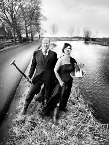 Ernst Schreurs en Erika Spil