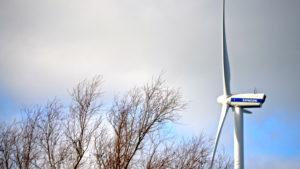 Windmolen op het terrein van SC Johnson